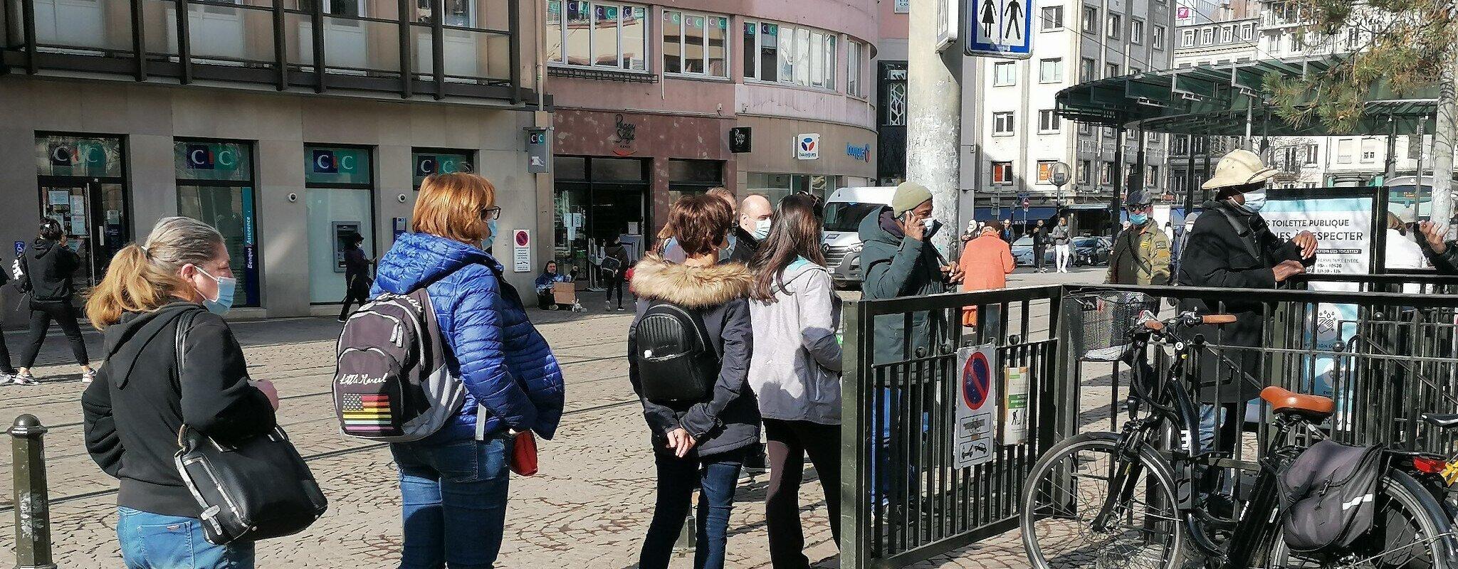 À Strasbourg, un besoin pressant de toilettes publiques