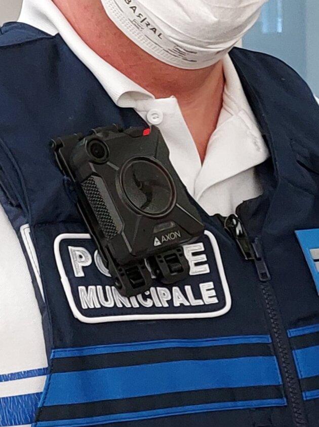 Caméra-piéton Police municipale Strasbourg