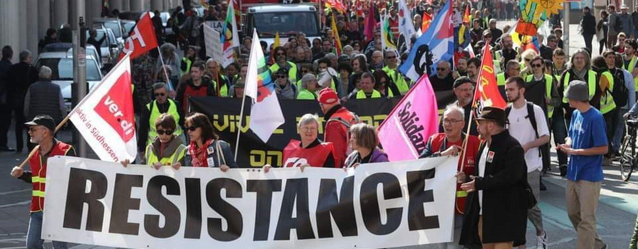 Une manifestation du 1er-Mai d'avant déconfinement, entre espoirs et inquiétudes