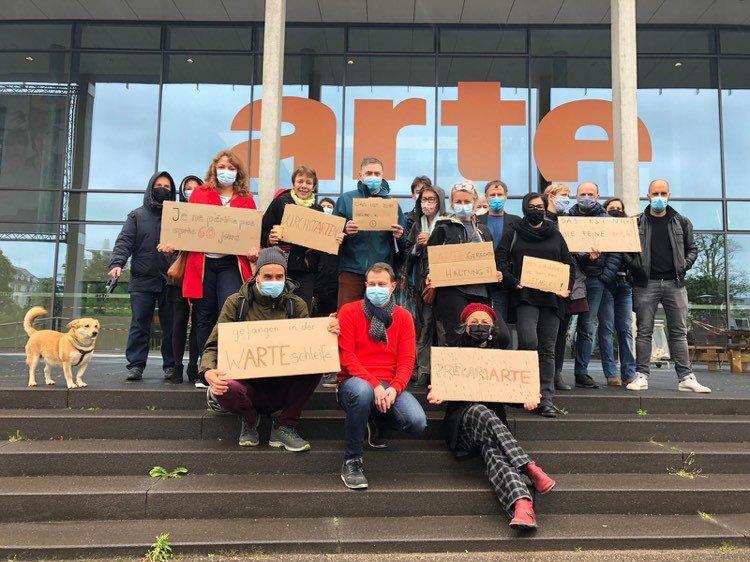 Grève à Arte contre une limite de jours de travail imposée aux pigistes et intermittents