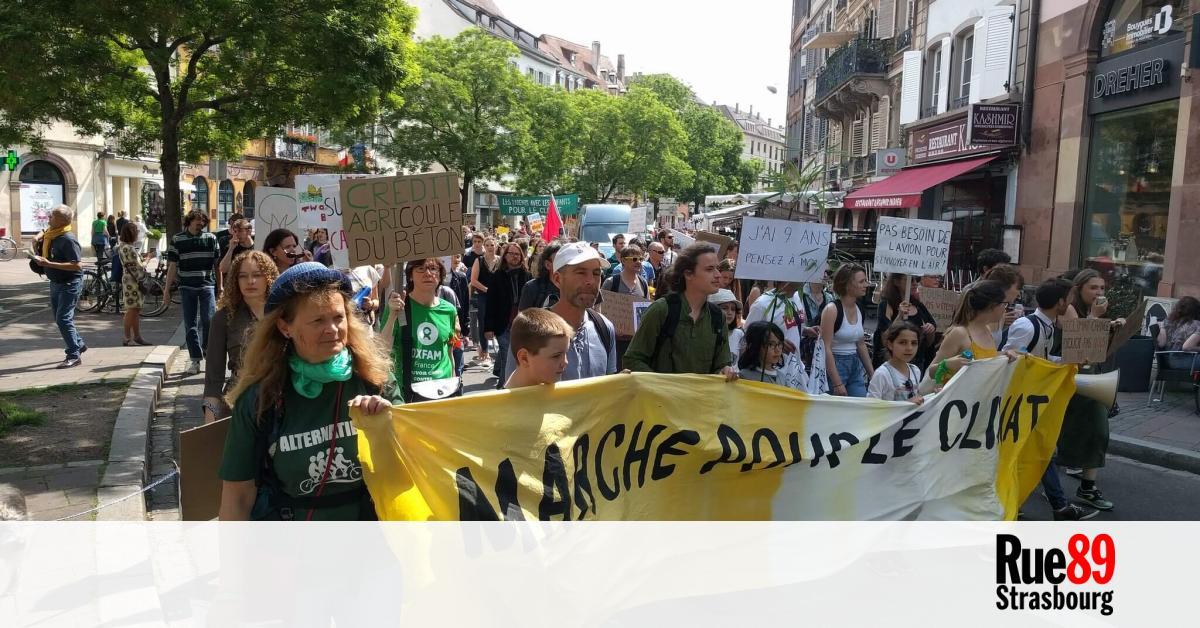 """À Strasbourg, des associations écologistes appellent à se mobiliser dimanche pour une loi Climat """"plus ambitieuse"""""""