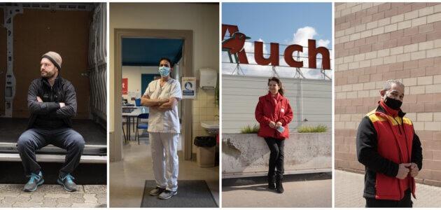Héros ou oubliés : que sont devenus les travailleurs «essentiels», un an après le début de la crise sanitaire?