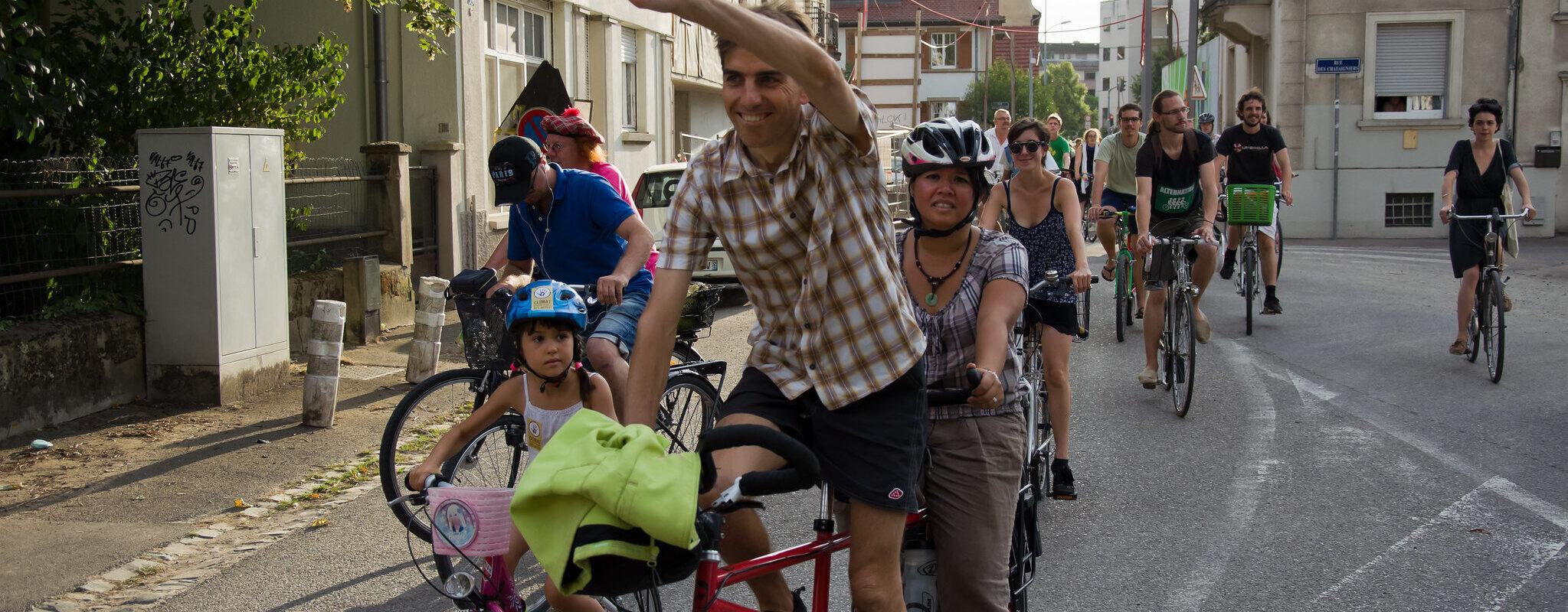 Dimanche, une manifestation à vélo pour plus d'aménagements cyclables à Koenigshoffen