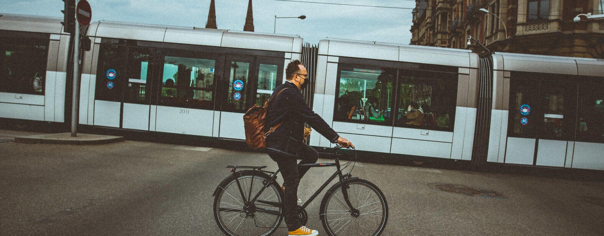 Le 9 juin, vélos et trottinettes à nouveau les bienvenus dans les trams