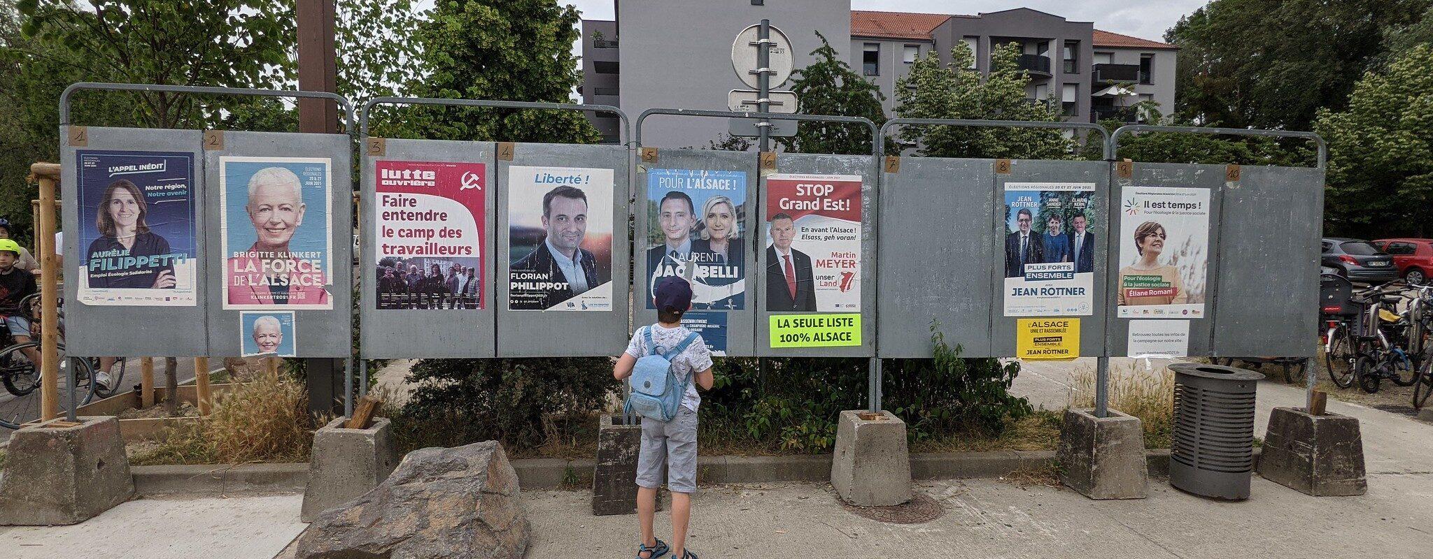 Régionales:Comment les quatre listes ont gagné des voix