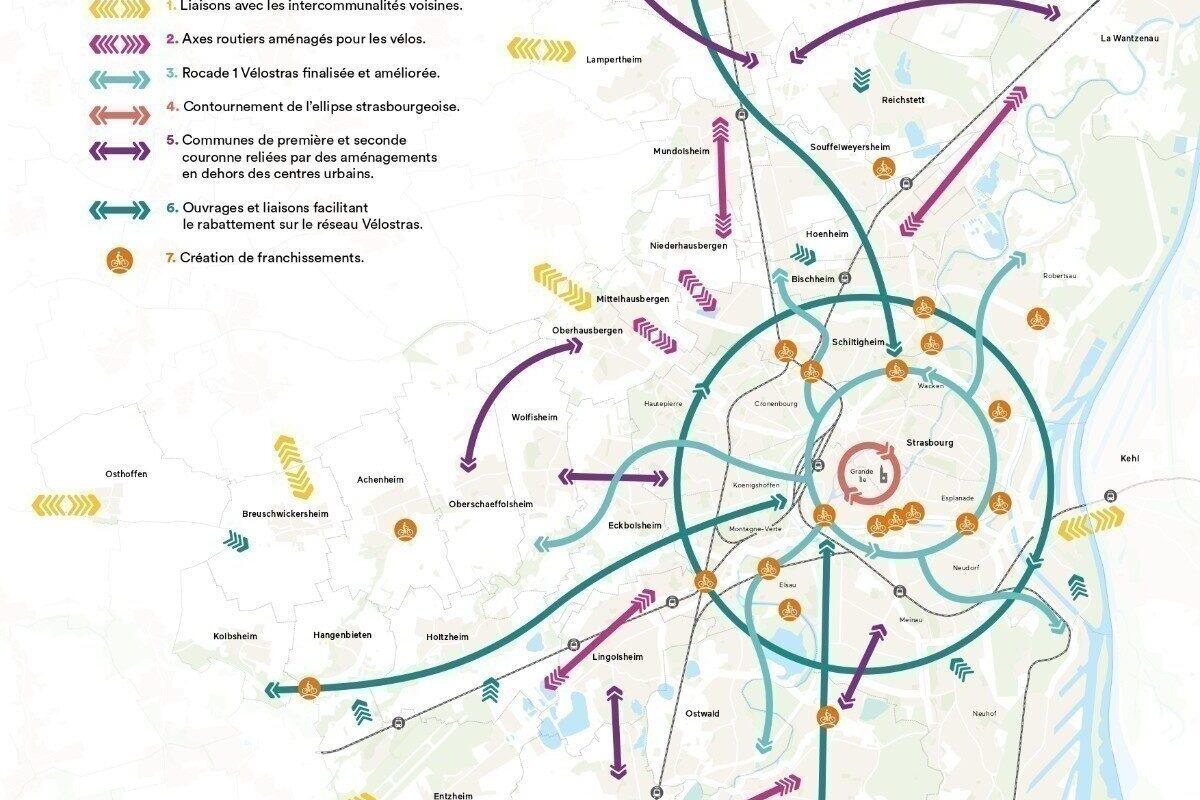 Dans l'Eurométropole, 120 kilomètres de pistes cyclables supplémentaires d'ici 2026