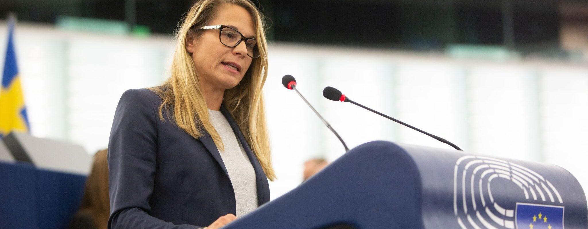 Virginie Joron placée sur une «liste noire» au Parlement européen