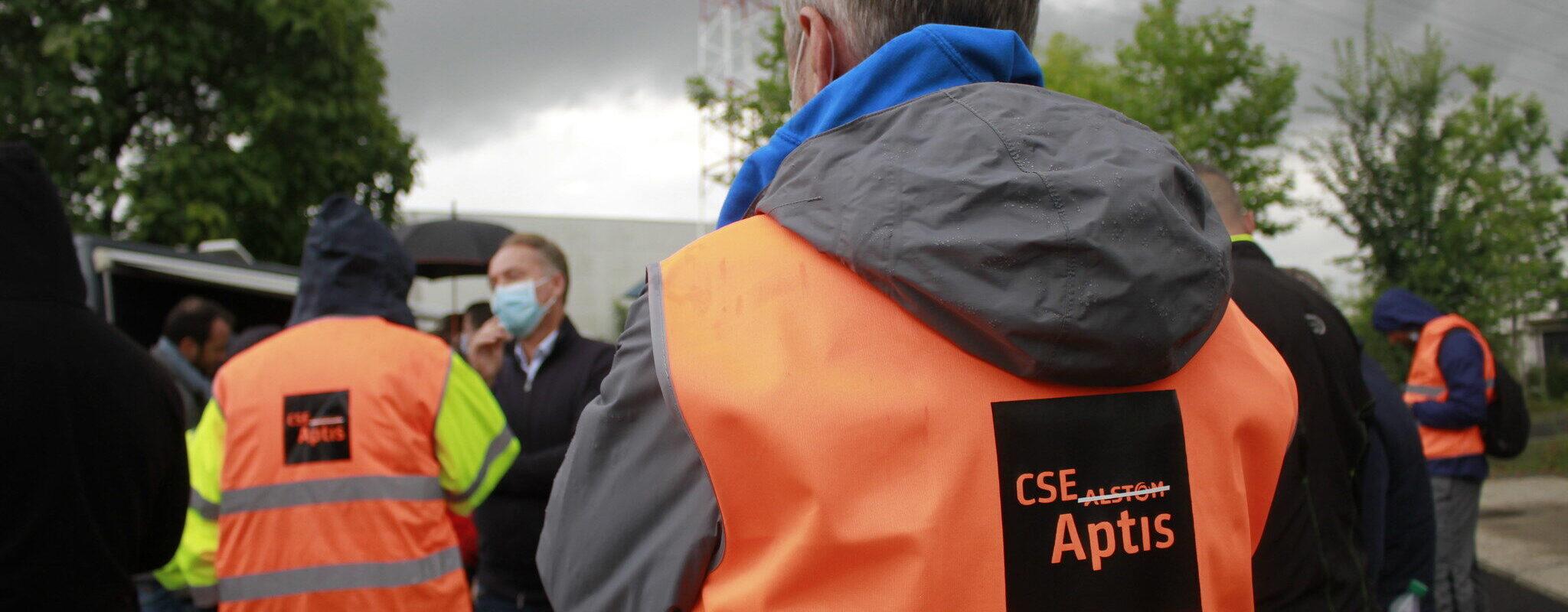 Grève graduelle à Alstom-Aptis, alors qu'un mystérieux repreneur est évoqué
