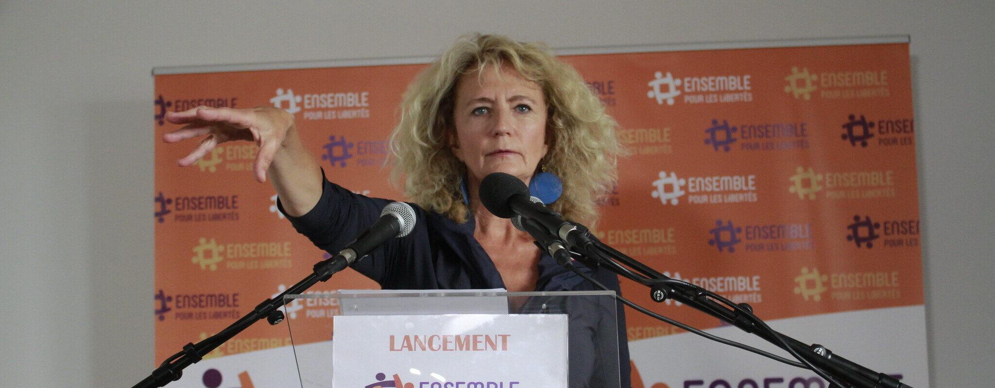Martine Wonner tente le pari, osé, de rassembler les colères exprimées depuis la crise sanitaire