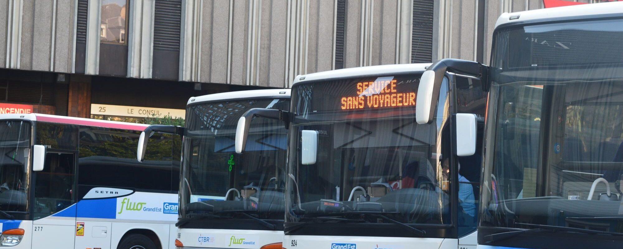 À partir de lundi, grève des conducteurs CTBR, contre la dégradation des conditions de travail
