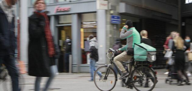 Décès d'un livreur à vélo à Strasbourg : des travailleurs constamment exposés aux risques d'accident