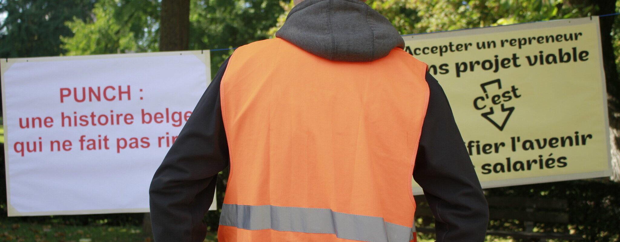 Manifestation des salariés d'Alstom-Aptis : «Il vaut mieux un bon plan social qu'une mauvaise reprise»